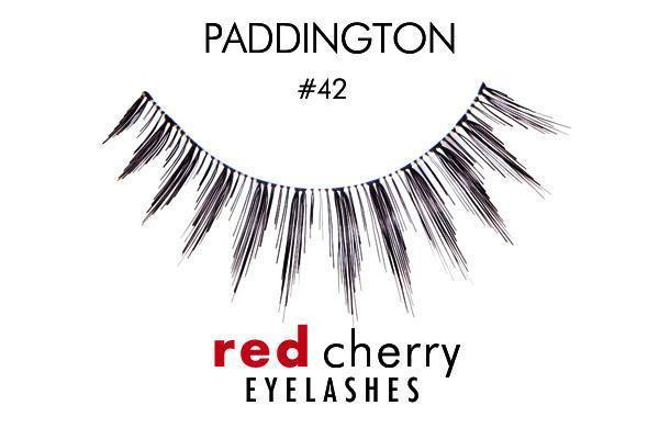 42 - paddington - red cherry lashes - lashes