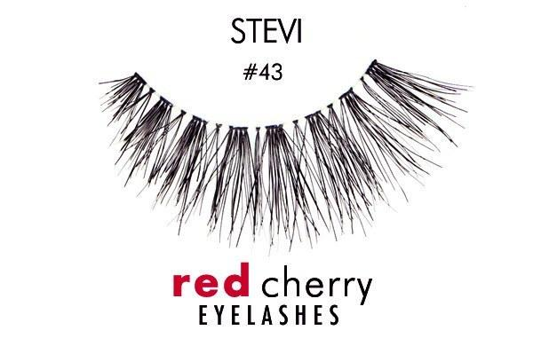 43 - stevi - red cherry lashes - lashes
