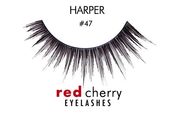 47 - harper - red cherry lashes - lashes