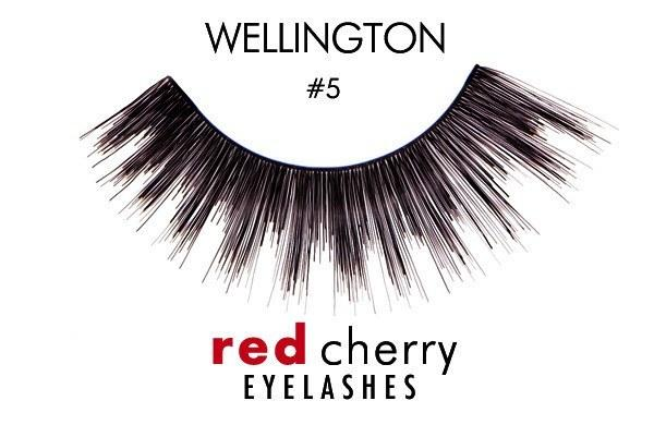 5 - wellington - red cherry lashes - lashes