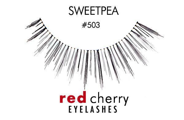 503 - sweetpea - red cherry lashes - lashes