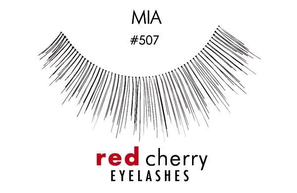 507 - mia - red cherry lashes - lashes