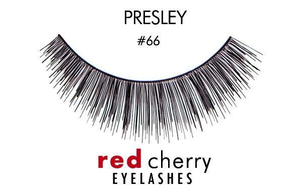 66 - presley - red cherry lashes - lashes