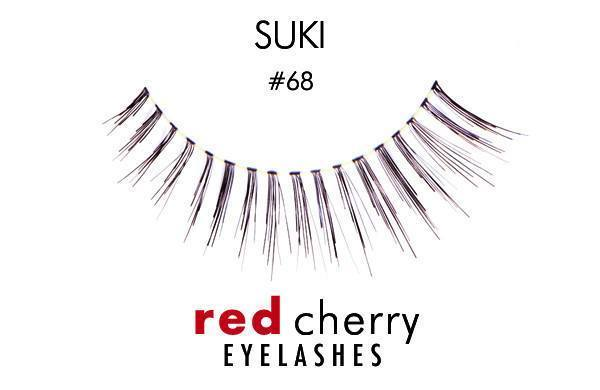68 - suki - red cherry lashes - lashes