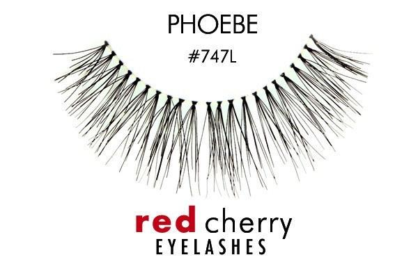 747l - phoebe - red cherry lashes - lashes