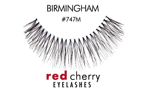 747m - birmingham - red cherry lashes - lashes