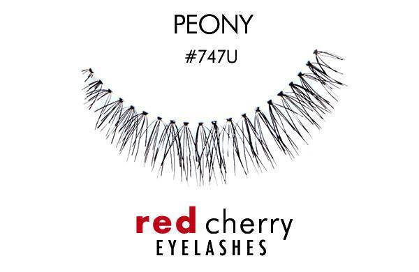 747u - peony - red cherry lashes - lashes