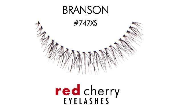 747xs - branson - red cherry lashes - lashes