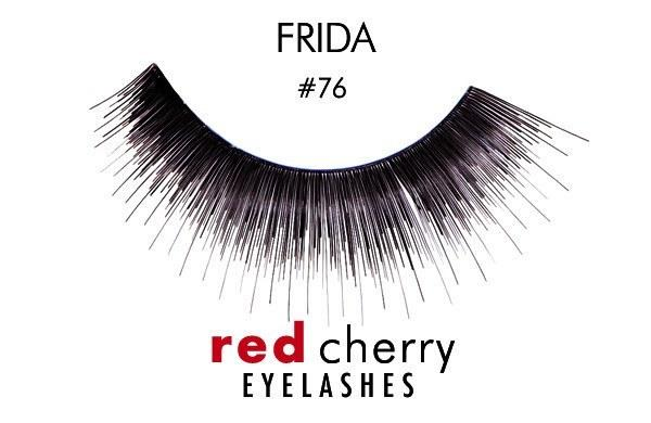 76 - frida - red cherry lashes - lashes