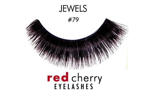 79 - jewels - red cherry lashes - lashes