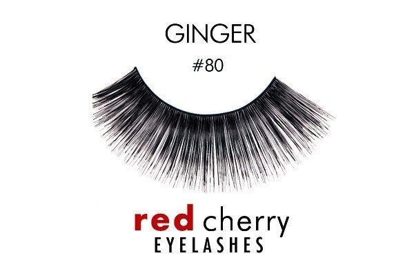 80 - ginger - red cherry lashes - lashes