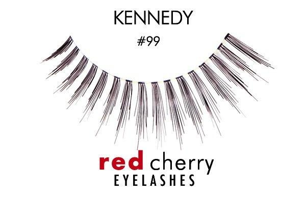 99 - kennedy - red cherry lashes - lashes