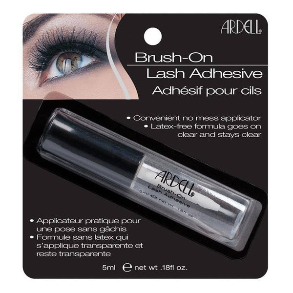 brush on lash adhesive - ardell - lashes
