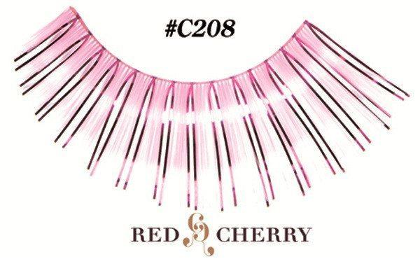 c208 - red cherry lashes - lashes