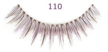 color impact lashes 110 plum - ardell - lashes