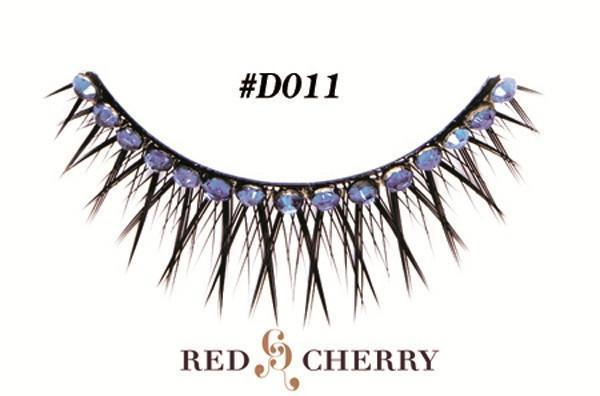 d011 - red cherry lashes - lashes