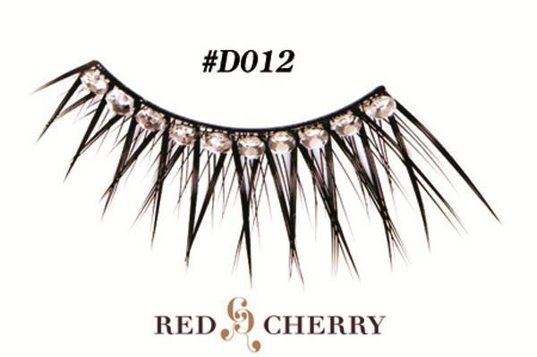 d012 - red cherry lashes - lashes