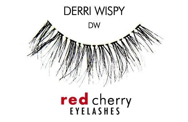 dw - derri wispy - red cherry lashes - lashes