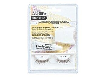 modlash strip lash starter kit 53 black - andrea - lashes