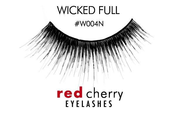w004n - wicked full - red cherry lashes - lashes