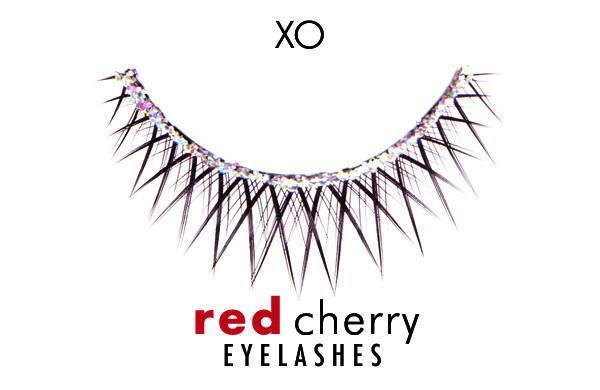 xo - red cherry lashes - lashes