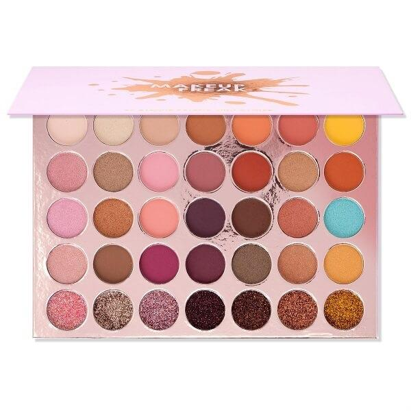 Makeup Freak Amour 35 Color Pigmented Eyeshadow Palette With Glitter