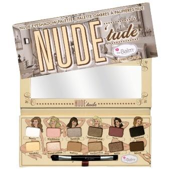 nude tude palette - naughty version - thebalm - makeup