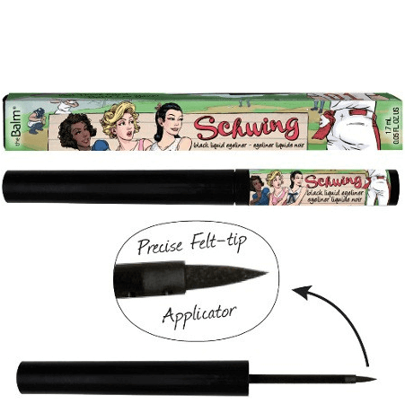 schwing liquid eye liner - thebalm - makeup