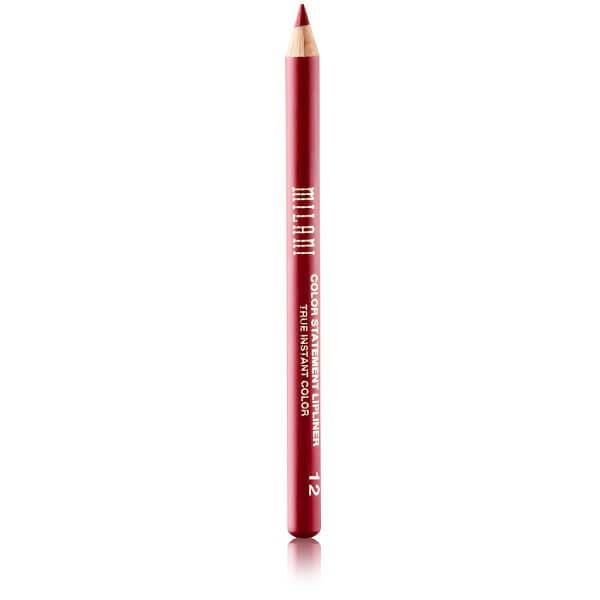 milani cosmetics color statement lipliner 12 bordeaux msln