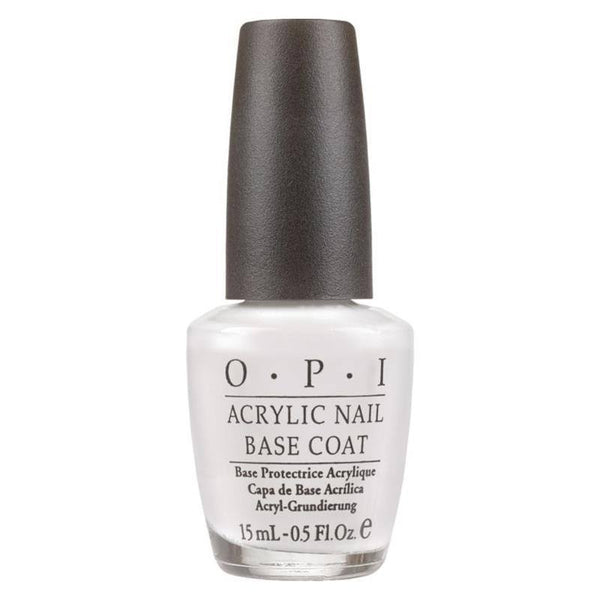 acrylic nail base coat - opi - nail polish
