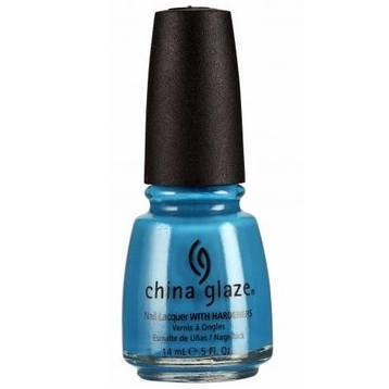 aqua baby - china glaze - nail polish