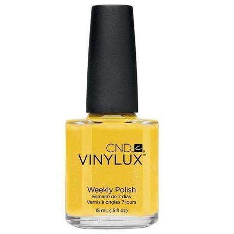 bicycle yellow vinylux - cnd - nail polish