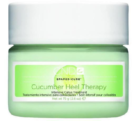 cucumber heel therapy - cnd - nail polish