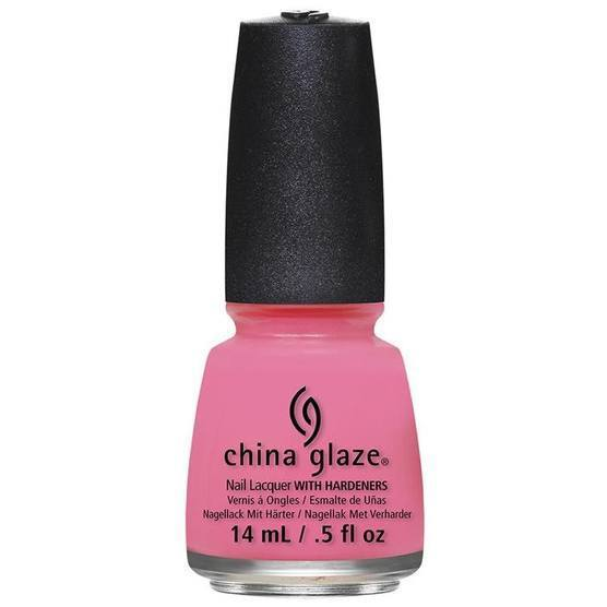 float on - china glaze - nail polish