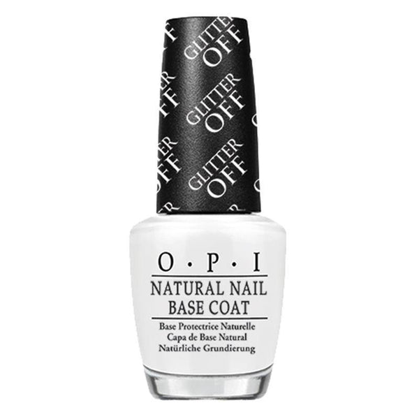 glitter off base coat - opi - nail polish