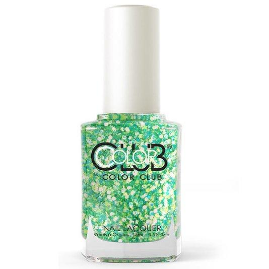 go-go green - color club - nail polish