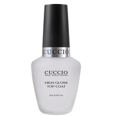 high gloss top coat - cuccio - nail polish