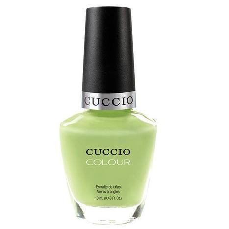 in the key of lime - cuccio - nail polish