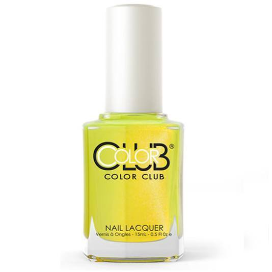 not-so-mellow yellow - color club - nail polish