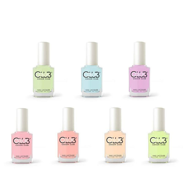 poptastic pastel neon collection - color club - nail polish