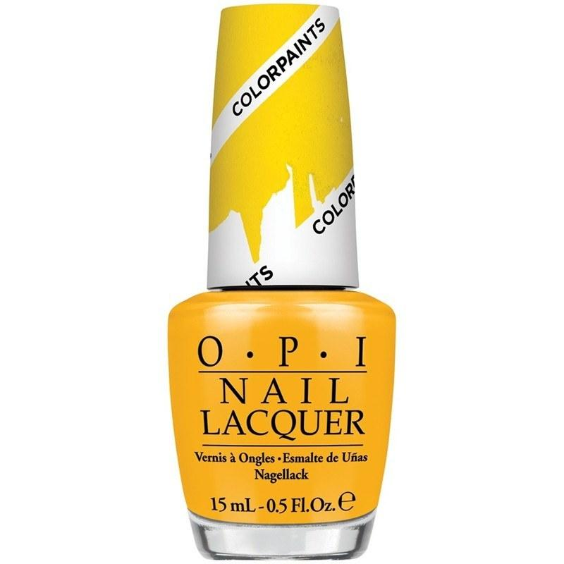 primarily yellow - opi - nail polish