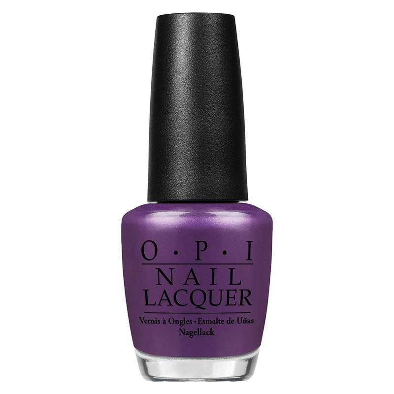 purple with a purpose - opi - nail polish