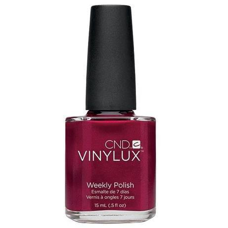 red baroness vinylux - cnd - nail polish