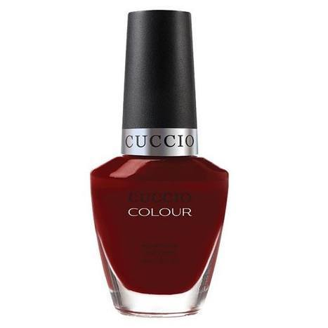 red eye to shanghai - cuccio - nail polish