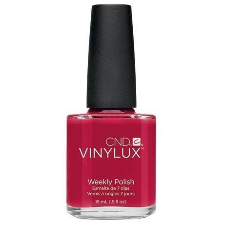 rouge red vinylux - cnd - nail polish