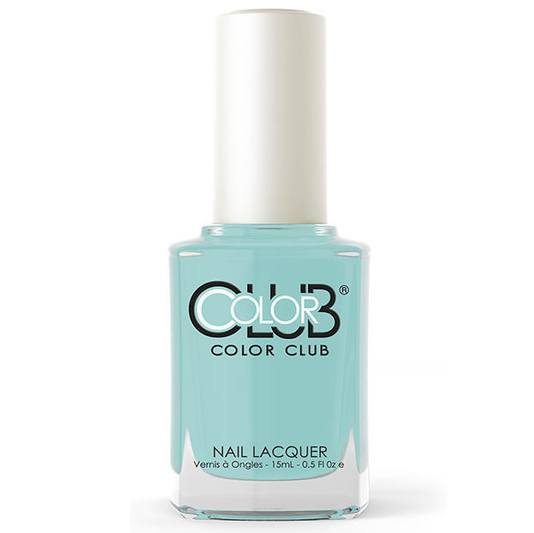 sea-ing blue - color club - nail polish