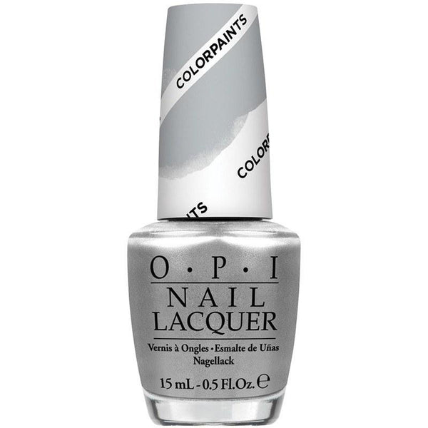 silver canvas undercoat - opi - nail polish