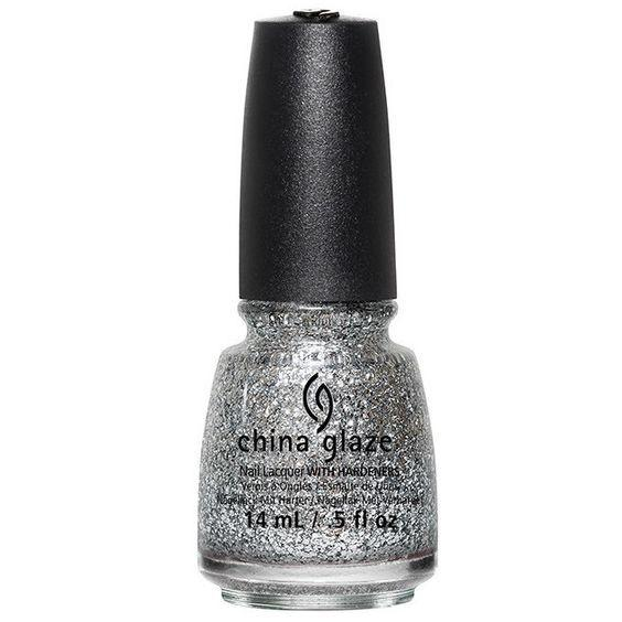 silver of sorts - china glaze - nail polish