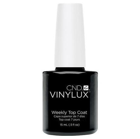 top coat vinylux - cnd - nail polish