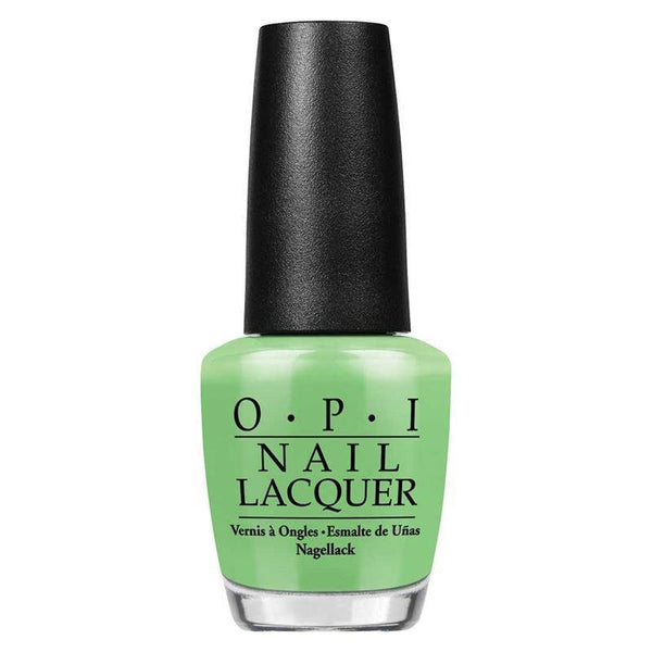 you are so outta lime - opi - nail polish